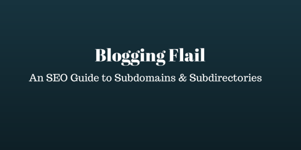 subfolder to subdomain case study